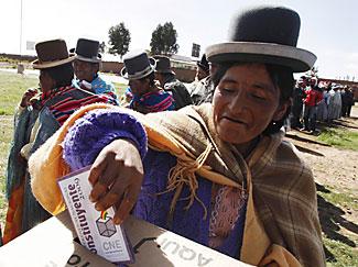 bolivia-voter