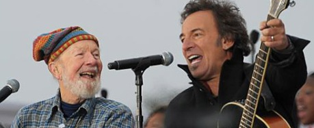 peter-seeger-and-springsteen