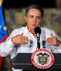 COLOMBIA-VENEZUELA-URIBE-CHAVEZ