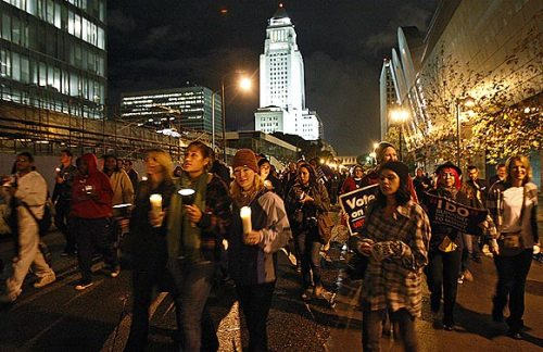 state policies on same sex marriage in Los Angeles