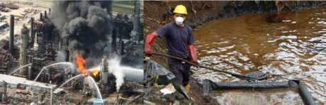 chevron contamination