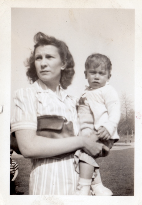 Anne with Baby Roger