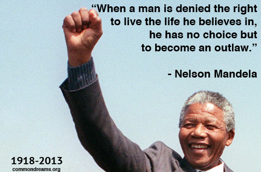 Great U003eNelson Mandela. U201c