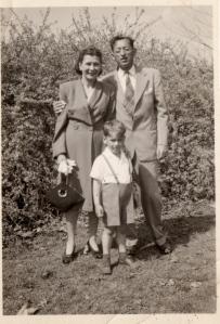 Anne, Charlie & Roger 1944