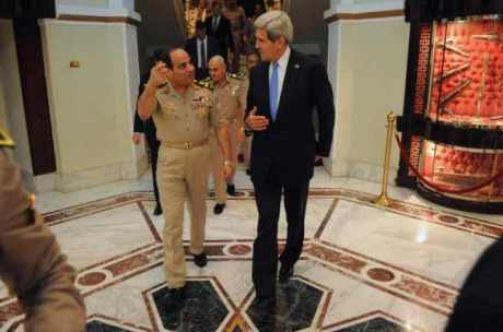 secretary_kerry_bids_farewell_to_egyptian_minister_of_defense_general_al-sisi